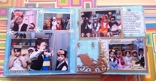 Сделала сыну альбом с фотографиями новогоднего утренника в садике фото 10
