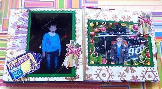 Сделала сыну альбом с фотографиями новогоднего утренника в садике фото 13
