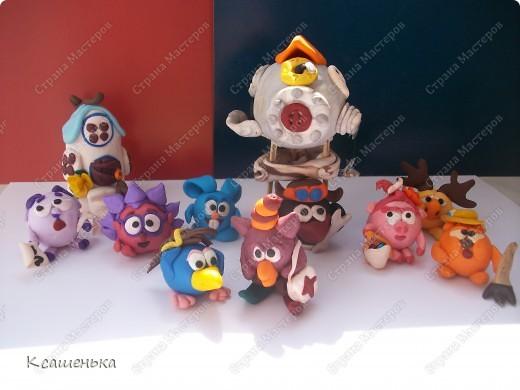 Вот такие игрушки получились для ребенка фото 1