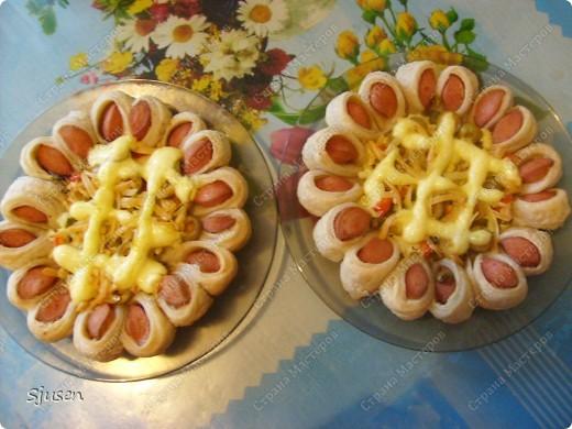Кулинария Мастер-класс Рецепт кулинарный Пицца-цветочек вкусно и красиво  МК Продукты пищевые фото 1