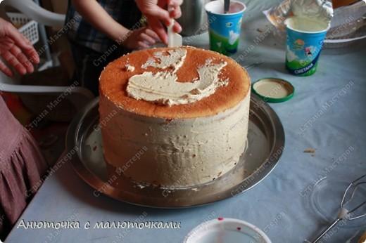 Сделала на очередной день рождения дочери очередной тортик :) Ничего особенного, на самом деле.   фото 2