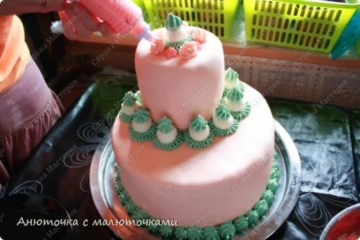 Сделала на очередной день рождения дочери очередной тортик :) Ничего особенного, на самом деле.   фото 9