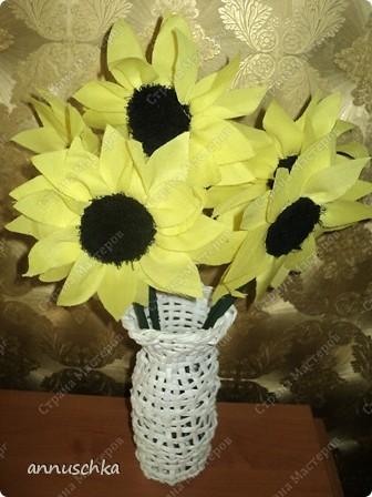 Мои плетенки сундук, ваза фото 3