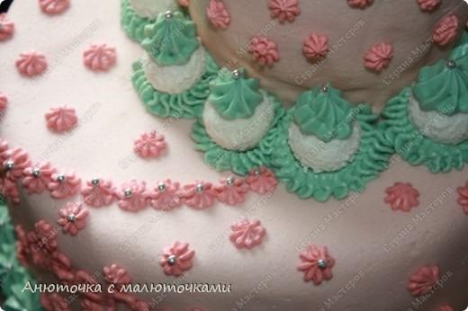 Сделала на очередной день рождения дочери очередной тортик :) Ничего особенного, на самом деле.   фото 13