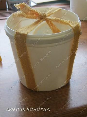 Вот такой кашпенок для кактусят быстренько случился. Котик это подарок подруги, http://stranamasterov.ru/user/38080, Я соорудила только кашпенка))) фото 2