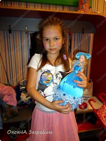 Вот и моя шкатулочка по МК от TataShatova. За что ей огромное спасибо!!! Сделана эта барышня с секретом по случаю дня рождения девочки Настеньки - подружки моей дочери Алёнушки. :) Ей исполнилось 8 лет. А это тот самый возраст, когда уже нужно иметь специальную коробочку для своих секретиков... :) фото 5