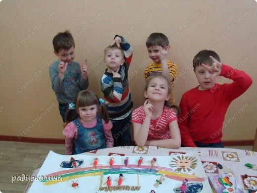 Вот такую работу сделали мы с ребятами к дню защиты детей. Ведь дети так любят лето и работа наша вся яркая, солнечная и позитивная. фото 6