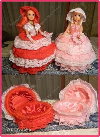 увидела у Ineska замечательный МК по созданию куколок-шкатулок! http://stranamasterov.ru/node/128514?c=favorite  Вот моя любимая куколка! Наверное, потому что любимый фотоаппарат был под рукой, поэтому хорошее фото получилось :) фото 4