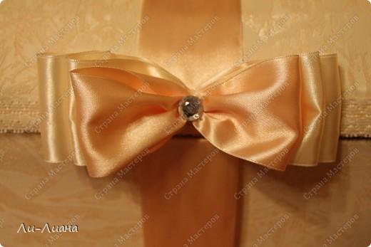 Спасибо Eis за подробнейший мастер-класс по созданию сундучков для свадебных подарков! http://stranamasterov.ru/node/213381?c=favorite  Делала всё по ее МК. Только декор поменяла фото 6