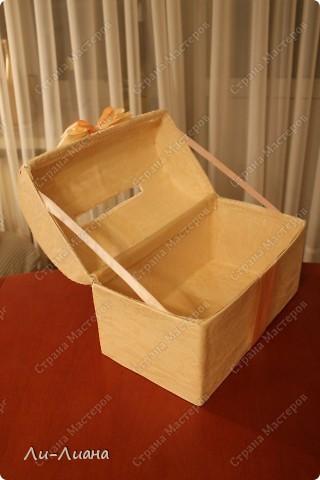 Спасибо Eis за подробнейший мастер-класс по созданию сундучков для свадебных подарков! http://stranamasterov.ru/node/213381?c=favorite  Делала всё по ее МК. Только декор поменяла фото 5
