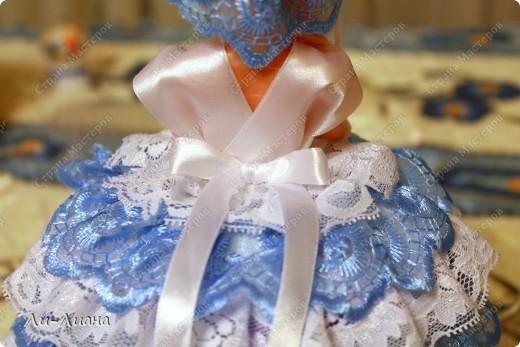 увидела у Ineska замечательный МК по созданию куколок-шкатулок! http://stranamasterov.ru/node/128514?c=favorite  Вот моя любимая куколка! Наверное, потому что любимый фотоаппарат был под рукой, поэтому хорошее фото получилось :) фото 2