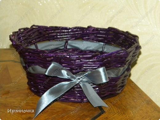 Фиолетовая конфетница. фото 1