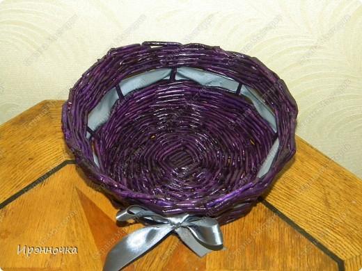 Фиолетовая конфетница. фото 2