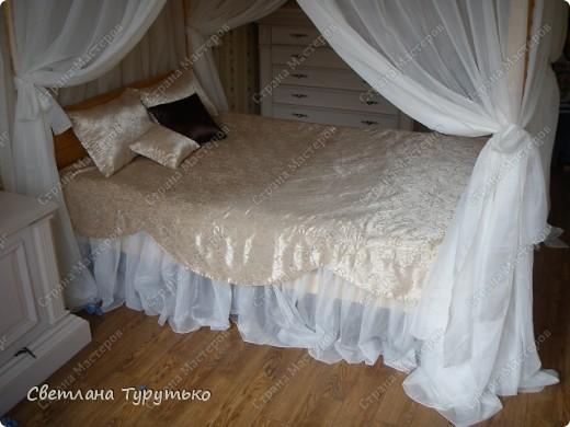 Красивые обновки для красивой кровати фото 2