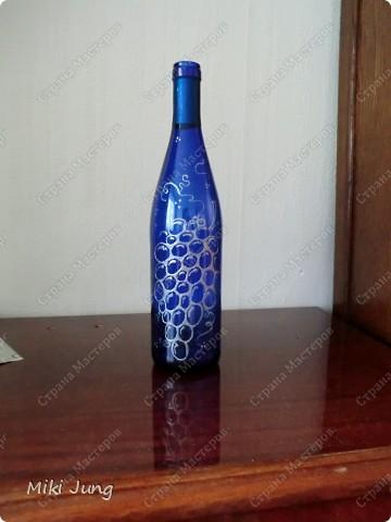 Бутылка-виноградинка