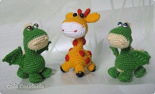 дракончик на основе схемы жирафика. фото 5