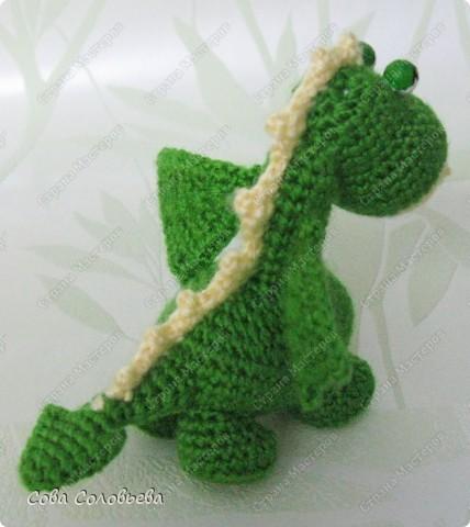 Вязание крючком дракончик