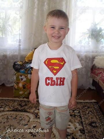 Мой красавчик - супер герой!!!!!!!!