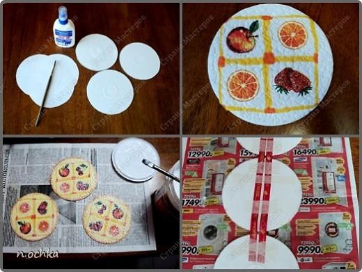 Это моя новая работа в технике декупаж, с использованием таких материалов, как CD-диск и яичная скорлупа.  фото 2