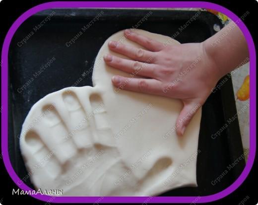 По просьбам размещаю мк,как мы делаем слепочки нашей Доченьки,ну а здесь и наши))) фото 7