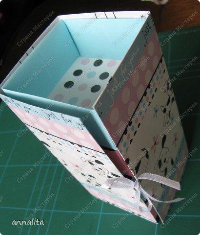 Мастер-класс Упаковка Многоярусная шкатулка + МК Бумага фото 22