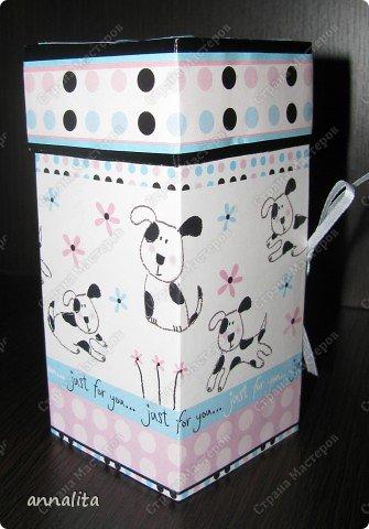 Мастер-класс Упаковка Многоярусная шкатулка + МК Бумага фото 2