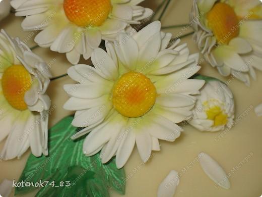 Торт для женщины, которой сердцу милы ромашки...   фото 2