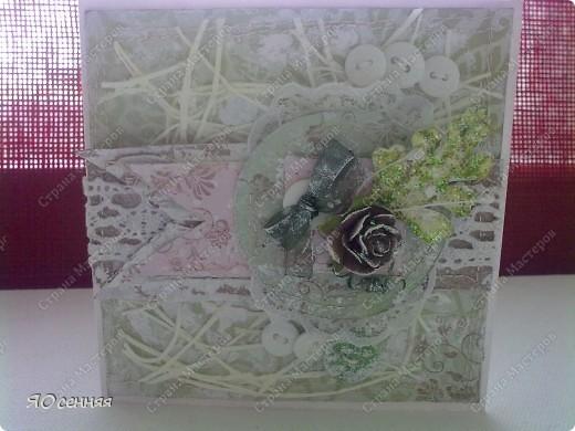 несколько открыточек из последних, в основном стиль шебби-шик фото 2