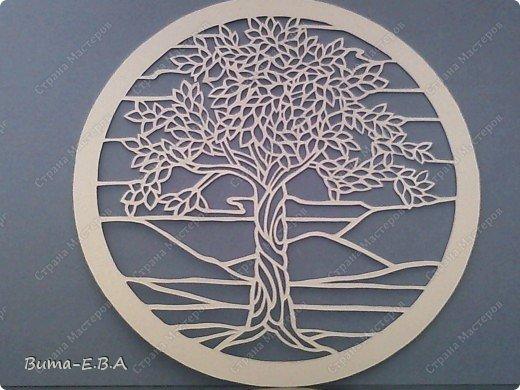 Недавно увидела такое прелестное деревце, и сразу загорелось его вырезать..  и показать вам эту нежную натуру деревца!!! фото 11