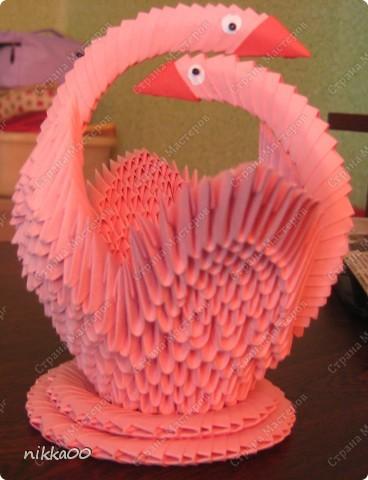 Вот таких лебедей я решила подарить мужу на годовщину нашей свадьбы.  фото 1