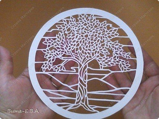 Недавно увидела такое прелестное деревце, и сразу загорелось его вырезать..  и показать вам эту нежную натуру деревца!!! фото 9