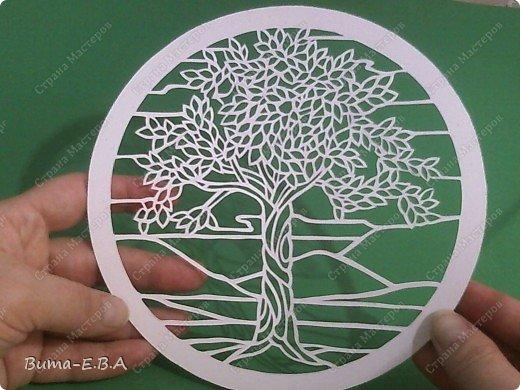 Недавно увидела такое прелестное деревце, и сразу загорелось его вырезать..  и показать вам эту нежную натуру деревца!!! фото 10