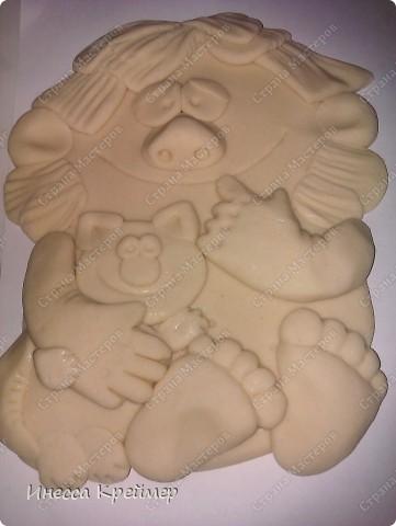 Мастер-класс День семьи Лепка ДОМОВЕНОК Тесто соленое фото 6