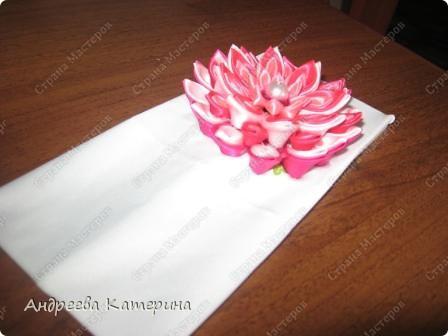 повязочка к лету. первый раз делала такой сложный цветок. подсмотрела в одноклассниках, уж больно понравился! захотелось поделиться! как вам? фото 2