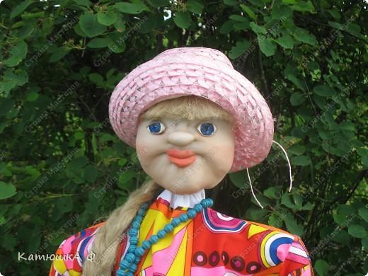 Мастер класс куклы своими руками в огороде