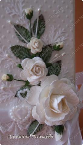 Всем здравствуйте, новые работки, поздравительные открытки. !. Свадебная фото 3