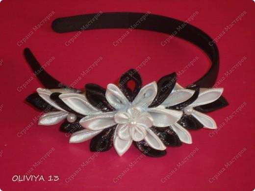 "Ещё несколько моих работ. Шпильки ""Белые цветы "" заказ фото 5"