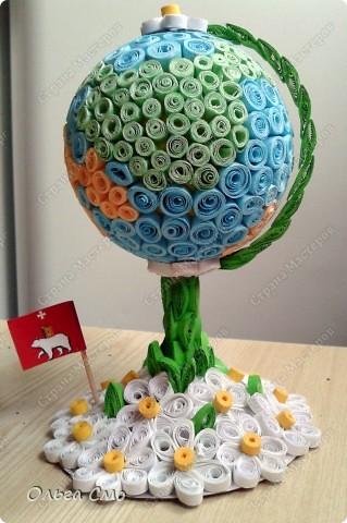 Глобус своими руками из подручных материалов