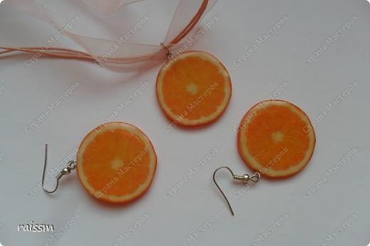 Сочный лимон-браслет и серьги. фото 3