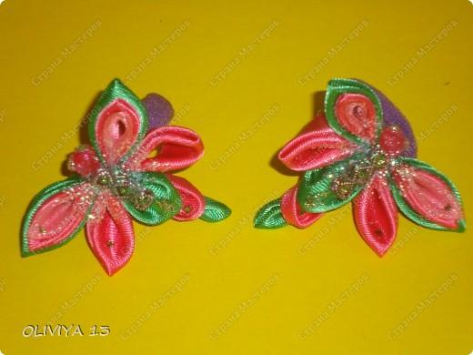Букашки на резиночках ,идеи из нета .Бабочки  фото 8