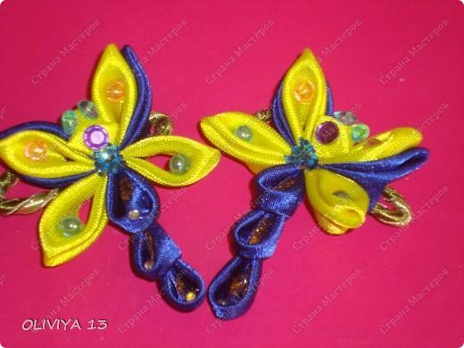 Букашки на резиночках ,идеи из нета .Бабочки  фото 6