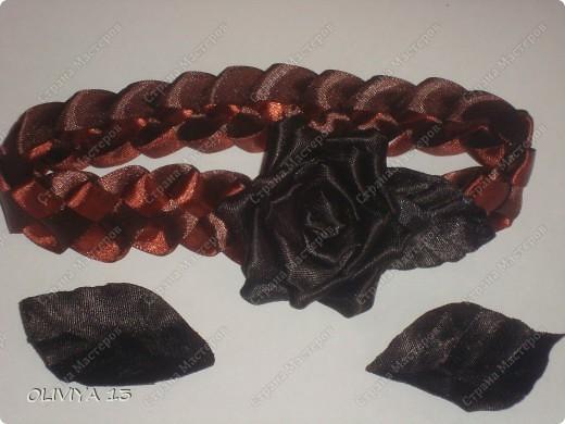 """Привет всем ! на этой странице я хочу ва показать следующие работы : резинка """" Шоколадная роза """" фото 8"""