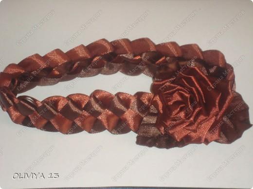 """Привет всем ! на этой странице я хочу ва показать следующие работы : резинка """" Шоколадная роза """" фото 4"""