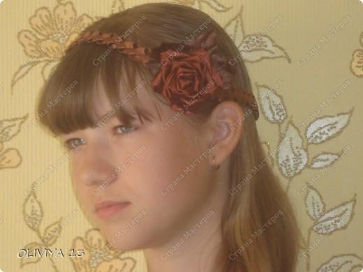 """Привет всем ! на этой странице я хочу ва показать следующие работы : резинка """" Шоколадная роза """" фото 7"""