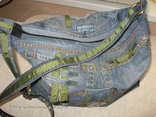 Две джинсовые спортивные сумочки фото 5