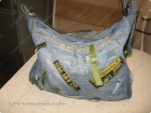 Две джинсовые спортивные сумочки фото 6