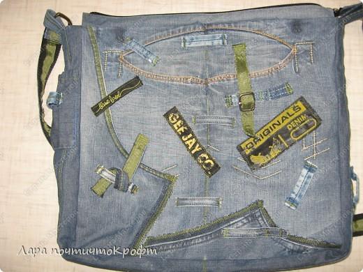 Две джинсовые спортивные сумочки фото 10