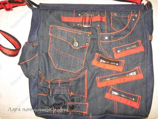 Две джинсовые спортивные сумочки фото 8