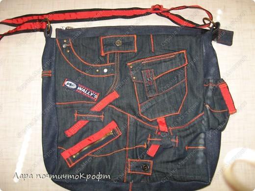 Две джинсовые спортивные сумочки фото 9
