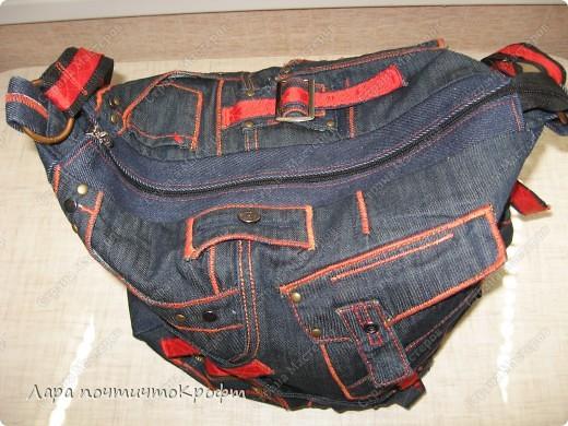 Две джинсовые спортивные сумочки фото 1